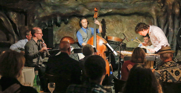 Brian O'Neill quintet Mr. Ho's Orchestrotica @ Bohemian Caverns in 2014